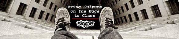 Skype Class Visit