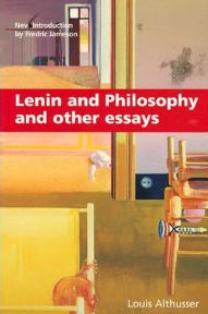 Lenin and philosophy and other essays ideology and ideological state apparatuses