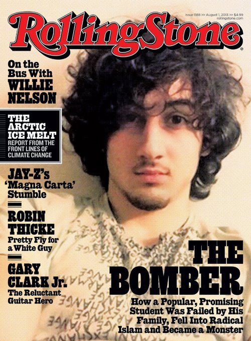 Rolling Stone cover of The Bomber