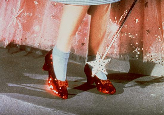 Wizard Of Oz Red Shoes No Place Like Home