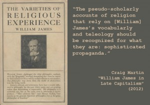 "Craig Martin ""William James in Late Capitalism"" (2012)"