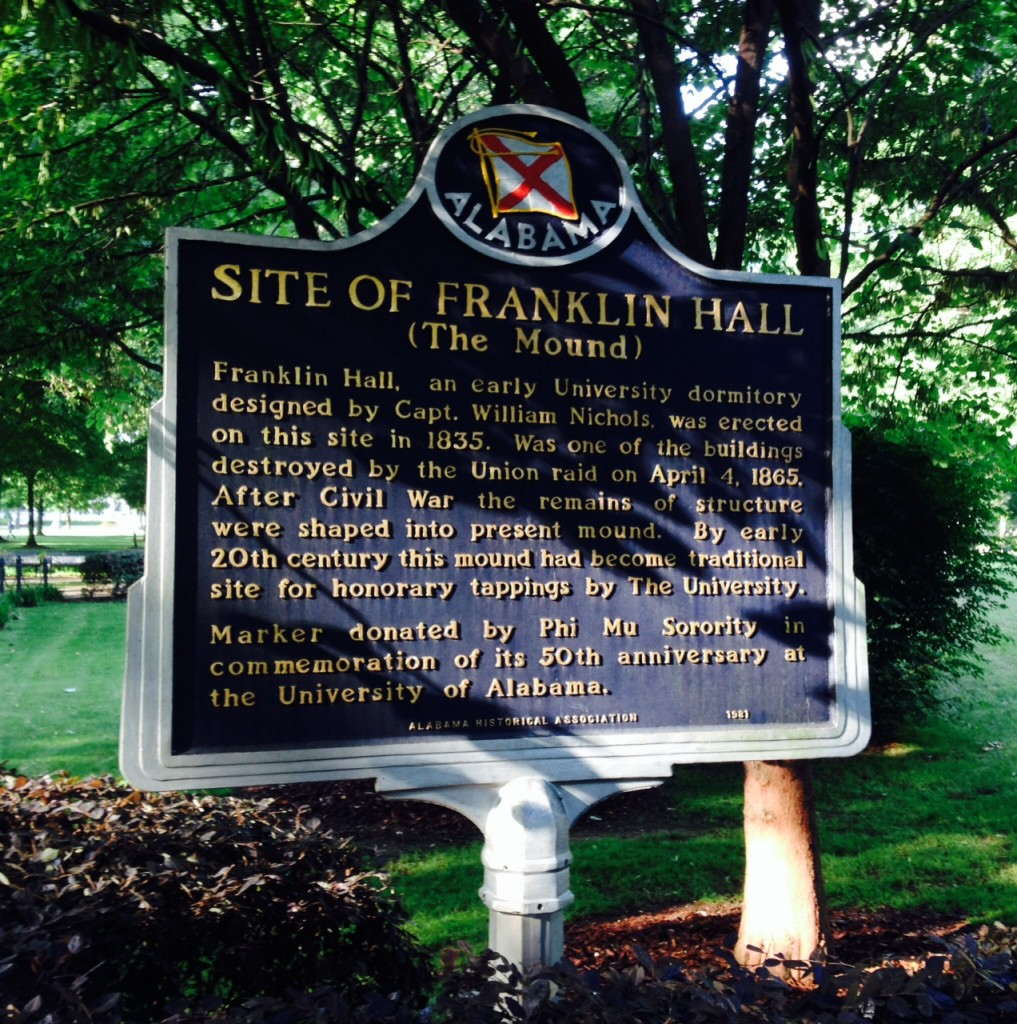 Site of Franklin Hall (The Mound)