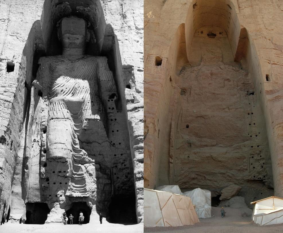 Bamiyan before and after