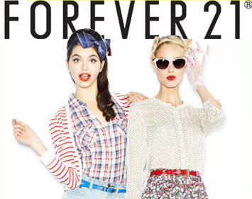 a Forever 21 advertisement