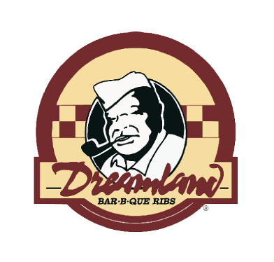 Dreamland Bar-B-Que Ribs sign