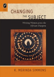 The cover of Changing the Subject by K. Merinda Simmons