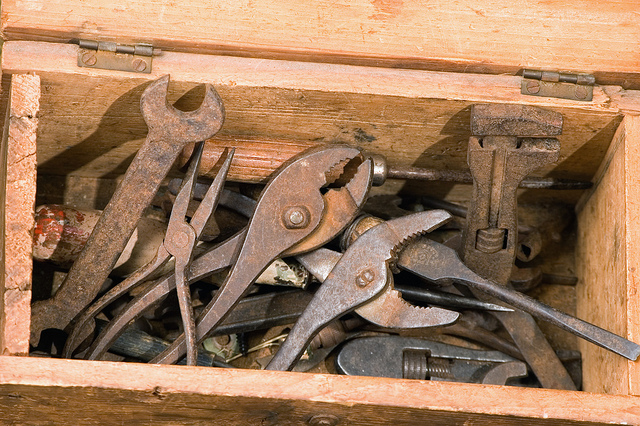 An old tool box