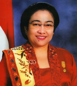 President Megawati Sukarnoputri of Indonesia