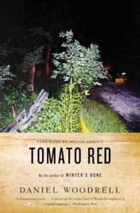 The cover of Tomato Red by Daniel Woodrell