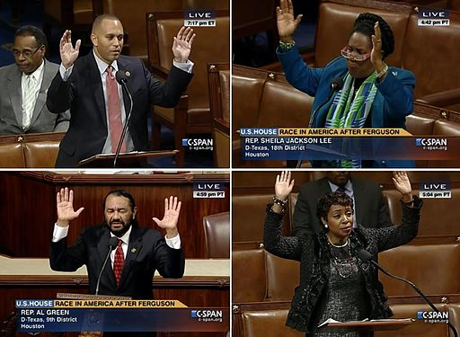 C-Span live images of the U.S. House