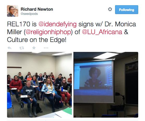 Richard Newton's tweet about REL 170
