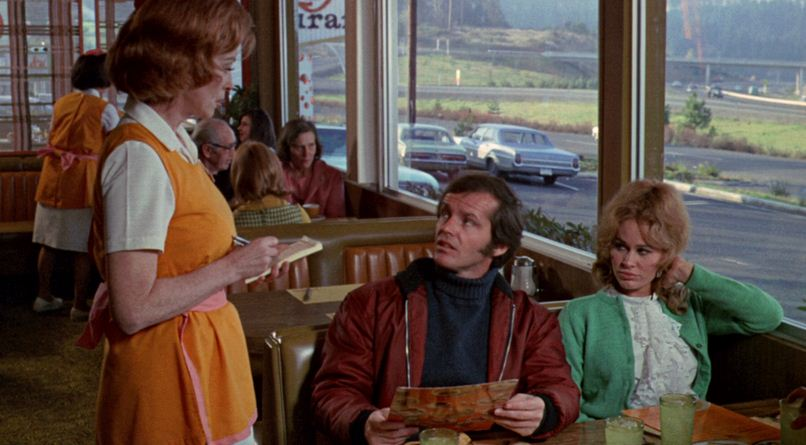 five easy pieces still of diner scene