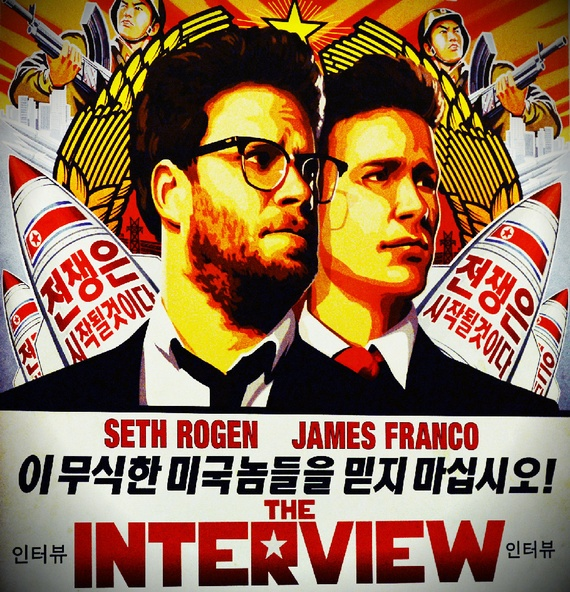 The cover for the movie The Interview