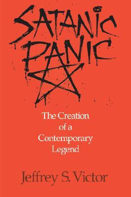 The cover of Satanic Panic by Jeffrey Victor