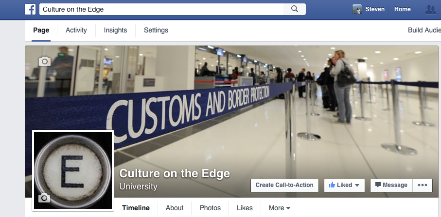 Culture on the Edge Facebook