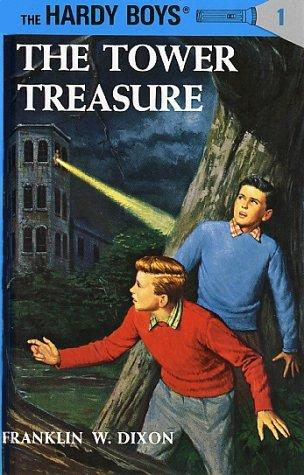 The cover of The Tower Treasure by Franklin W. Dixon