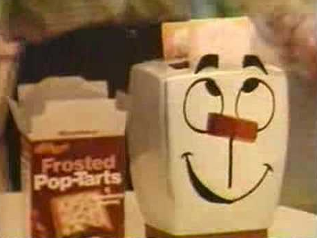 An old Frosted Pop-Tarts advertisement