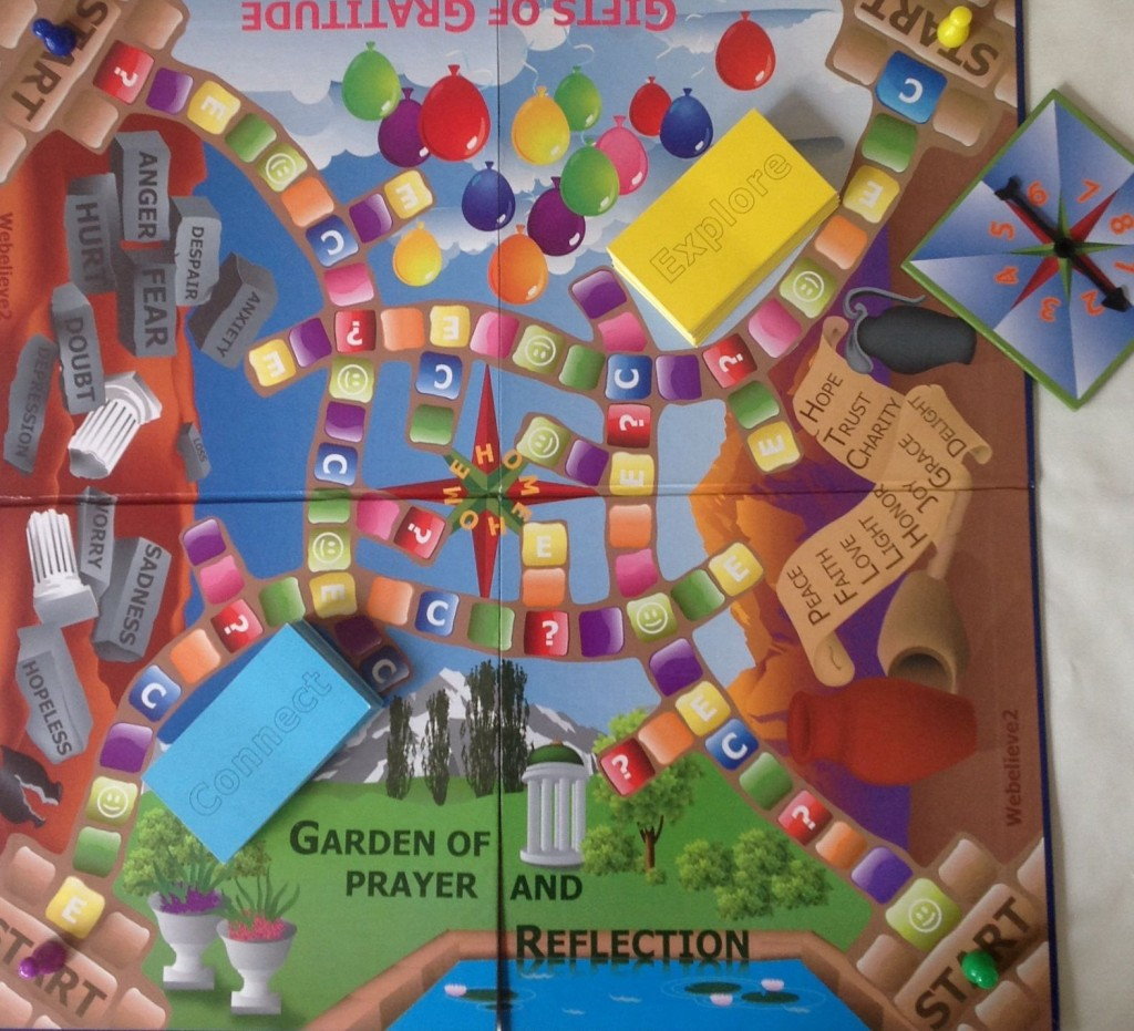 Garden of Prayer and Reflection board game