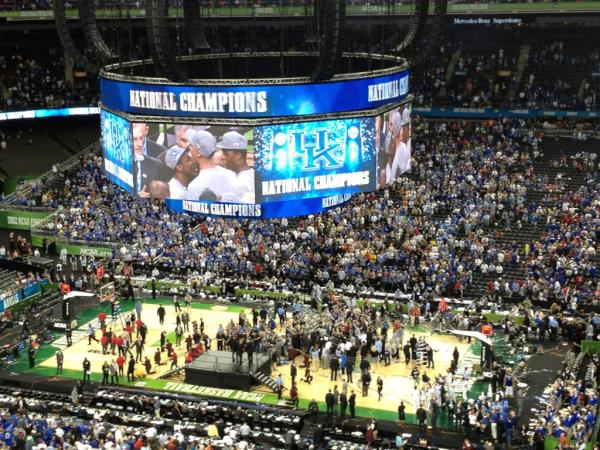 University of Kentucky wins the National Championship
