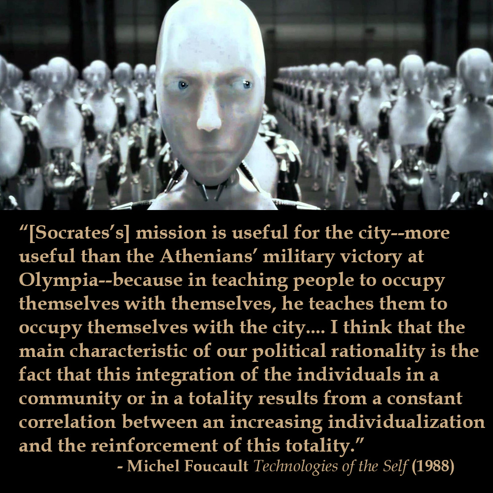 Michel Foucault Technologies of the Self (1988)