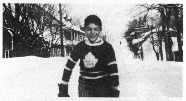 a picture of Roch Carrier when he was 10 years old