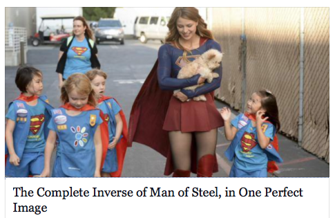 The Complete Inverse of Man of Steel, in One Perfect Image