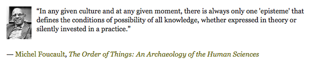 Michael Foucault, The Order of Things: An Archaeology of Human Sciences