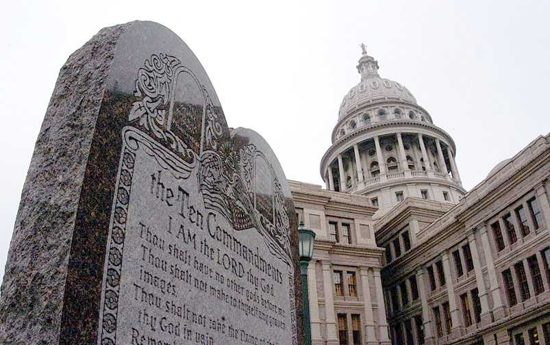 Ten Commandments in Austin State Capitol