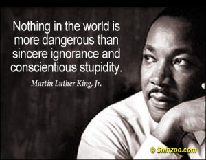 A quote by Martin Luther King Jr