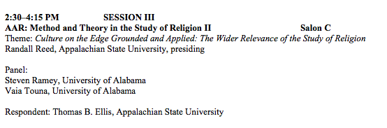 Method and Theory in the Study of Religion II
