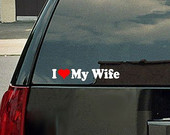 wife bumpersticker