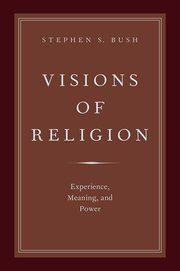 The cover of a book called Visions of Religion