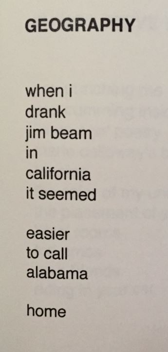 A poem about Geography