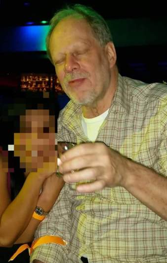 Photo of suspect in Las Vegas mass shooting