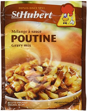 An image of St Hubert Melange a sauce POUTINE Gravy Mix
