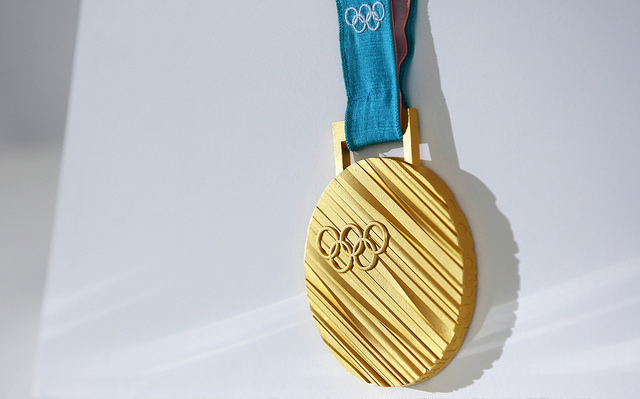 gold medal of 2018 Winter Olympics