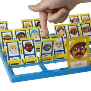 An image of someone playing the Guess Who game